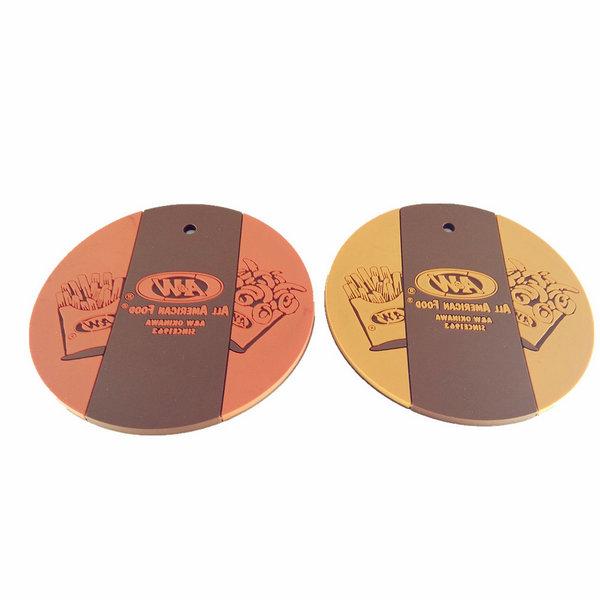 Custom soft pvc cup mats