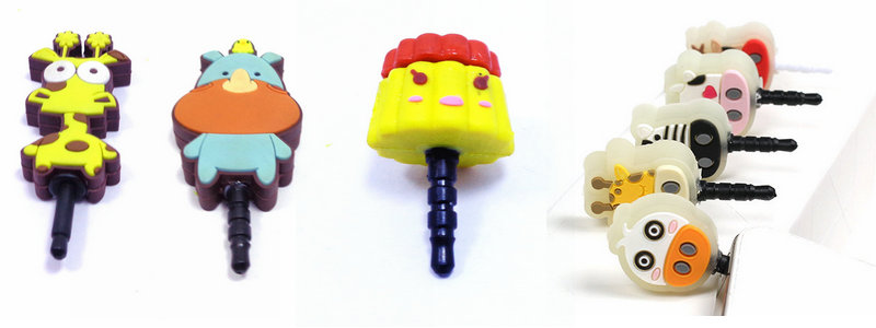 custom PVC cute cartoon cell phone dust plug,made by China factory,with highest quality and lowest price.Email:info@pvccreations.net