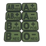 custom military patches made from eco-friendly soft pvc,for uniforms: military, police, security companies, airsoft, paintball. Hook & loop backing. Make your patch unique, make them 3D by China manufacturer
