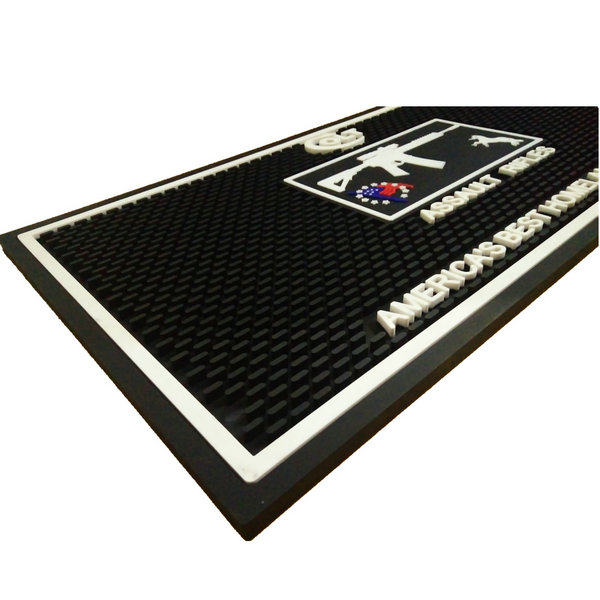 PVC Rubber Bar Mats with eco-friendly,waterproof,easy clean,anti slip etc features. mainly used on bar counter,clubs,beer,Beverage and alcohol companies