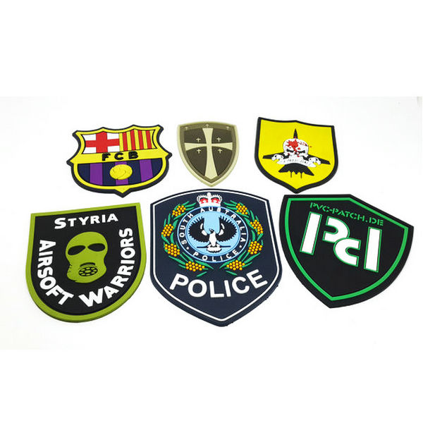 tactical patches made from eco-friendly soft pvc,for uniforms: military, police, security companies, airsoft, paintball. Hook & loop backing. Make your patch unique, make them 3D by China manufacturer