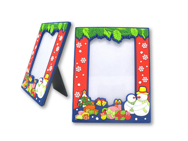 Custom PVC photo frame by China manufacturer,with good quality and low price.Make your promotion picture with unique design and 2d/3d logo.Contact:info@pvccreations.net