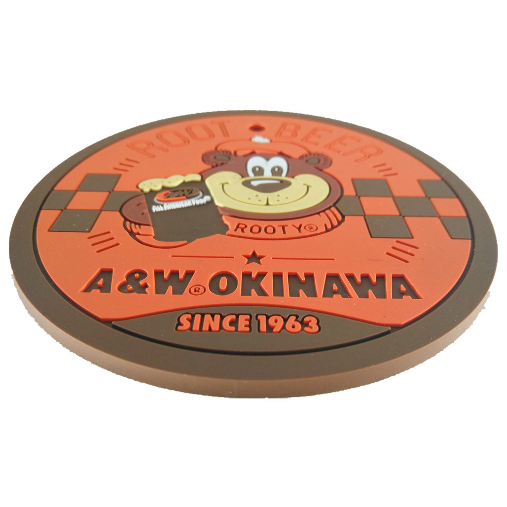 PVC Coaster Custom By China Professional Factory