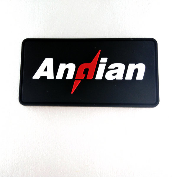 Custom pvc rubber patches with free design