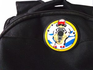 custom bag pvc patches with velcro backing is made by Eco-Friendly PVC material,Custom 3D design,beautiful and fashionable, easy clean,waterproof. raise grade of bags.clothes
