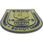 custom morale patches made from eco-friendly soft pvc,for uniforms: military, police, security companies, airsoft, paintball. Hook & loop backing. Make your patch unique, make them 3D by China manufacturer