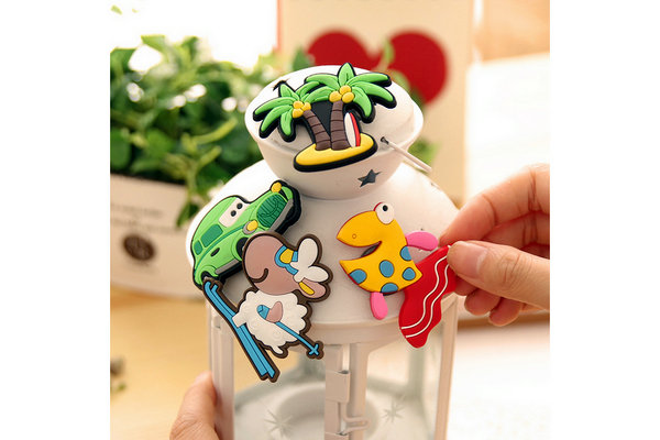 fridge magnets made from Eco-friendly pvc rubber material ,can be 2d/3d,waterproof,beautiful and fashionable, with funny, stong, alphabet, cartoon animal, bottle photo frames etc cool&cute design ,for your kitchen, fridge, kids,business as a souvenir, decoration items,Christmas Gift.
