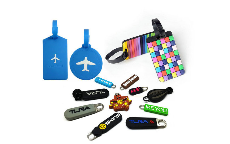 Custom soft PVC rubber luggage tags is made by Eco-friendly PVC material. Custom 3D design,soft soft feeling,easy clean,waterproofing and wear-resisting. Prevent your luggage/bags etc loss.