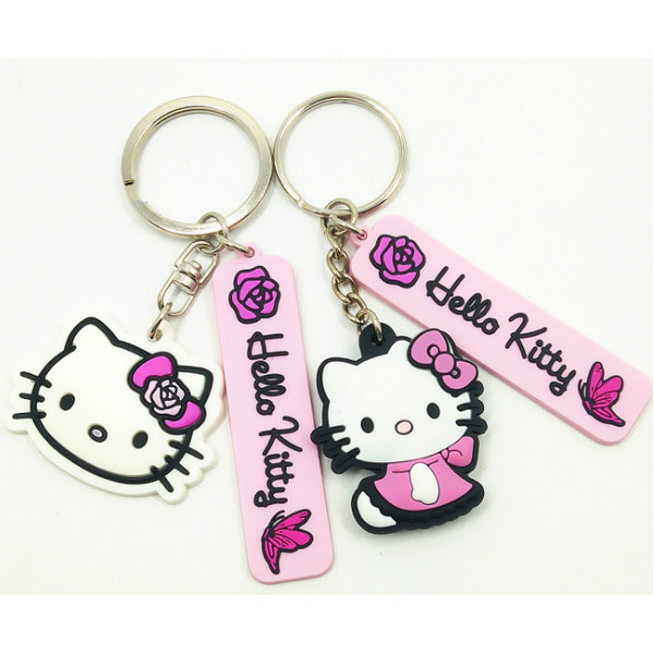rubber keyrings made from pvc and rubber,custom your own promotional keyrings gifts