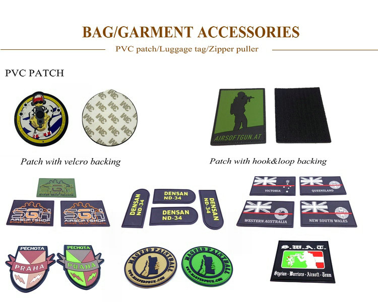 military tactical morale patches made by Eco-Friendly PVC material,Custom 3D design,beautiful and fashionable, easy clean,waterproof. raise grade of garment.