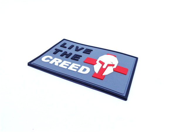 Custom PVC Patches for uniforms: military, morale, police, security companies, airsoft, paintball. Hook & loop backing. Make your patch unique, make them 3D.