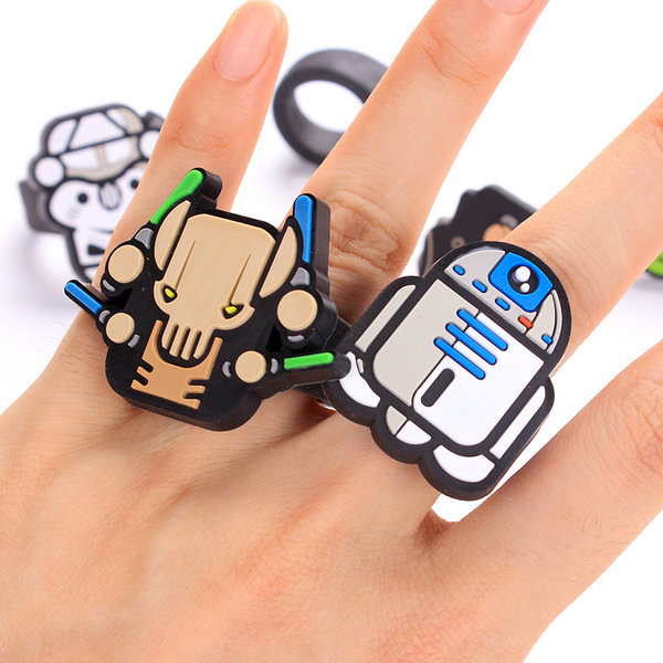 Custom PVC finger ring with good quality and lower price.Make them unique&3d.By China factory manufacturing.contact:info@pvccreations.net