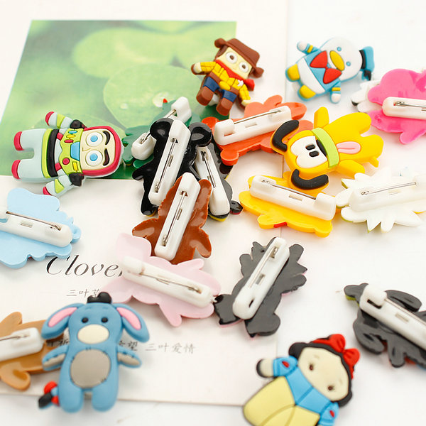 Custom PVC pin badge by China factory,with good quality and lowest price,PVC lapel pin is a fun, unique and economical choice for your promotional gifts.contact:info@pvccreations.net