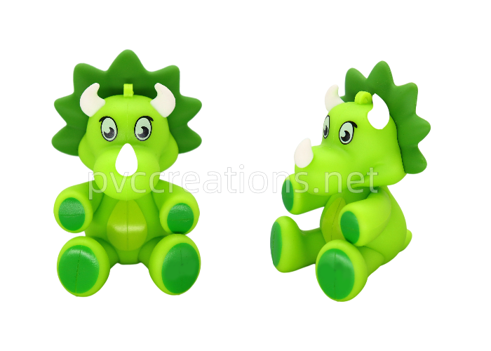 3d rubber pvc keychains custom China factory